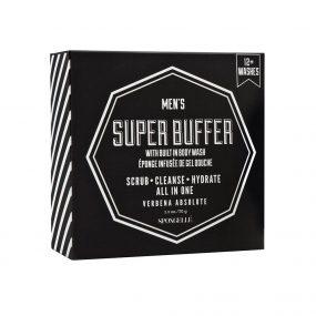Spongelle Men's Super Buffer - Verbena