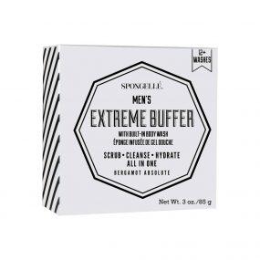 Spongelle Mens Extreme Buffer - Bergamot