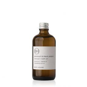 Bathhouse Patchouli & Black Pepper Bath Oil